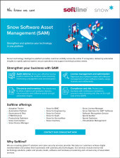 Snow Software Asset Management (SAM)