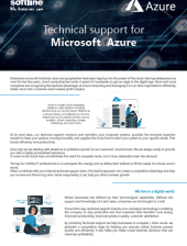 2020 One pager Support for Azure